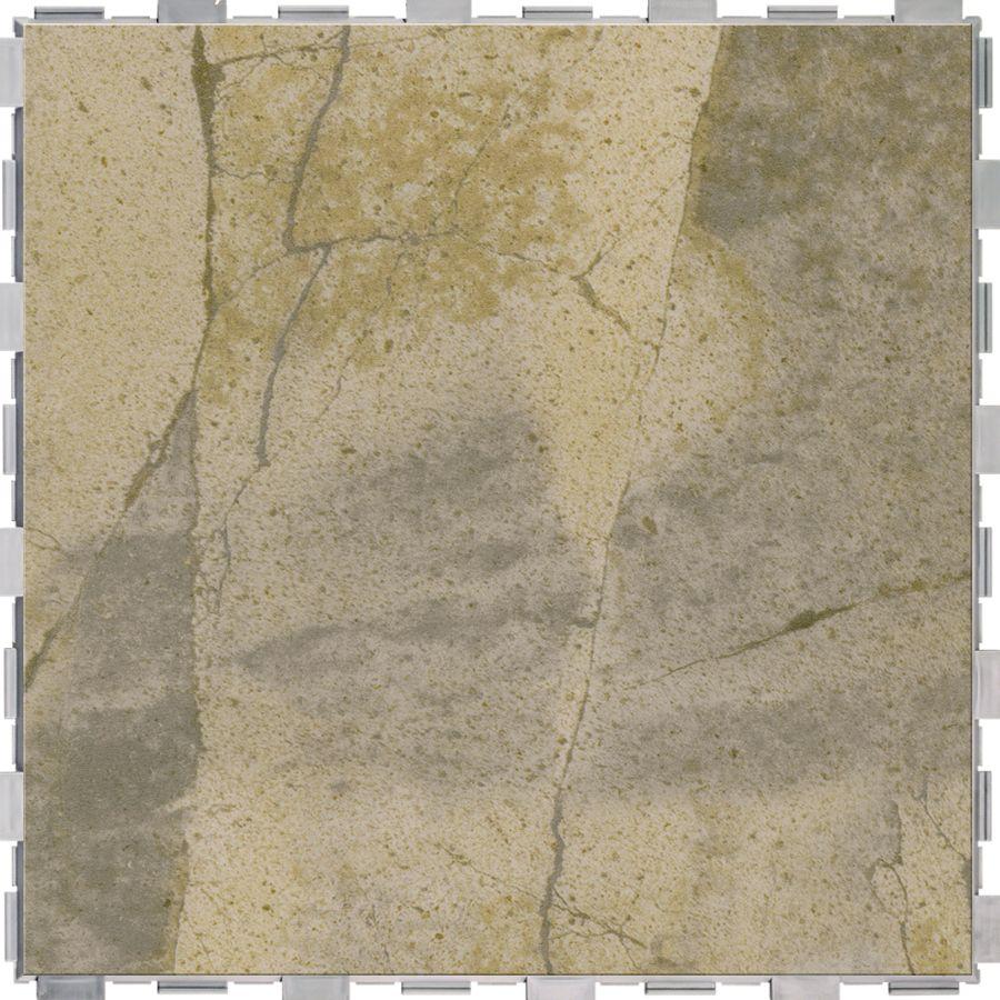 Snapstone Interlocking 4 Pack Bedrock Porcelain Floor Tile Common