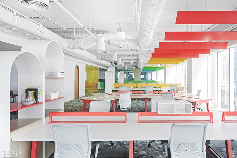 Roar S Pallavi Dean Uses Color Psychology To Define Work Spaces At