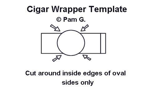 Cigar Wrapper Template I Made