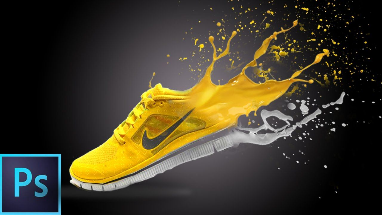 Adobe Illustrator Cs6, Paint Splash, Shoe Painting, Photo Effects, Photo  Manipulation, Adobe Photoshop, Photo Editing, Ps