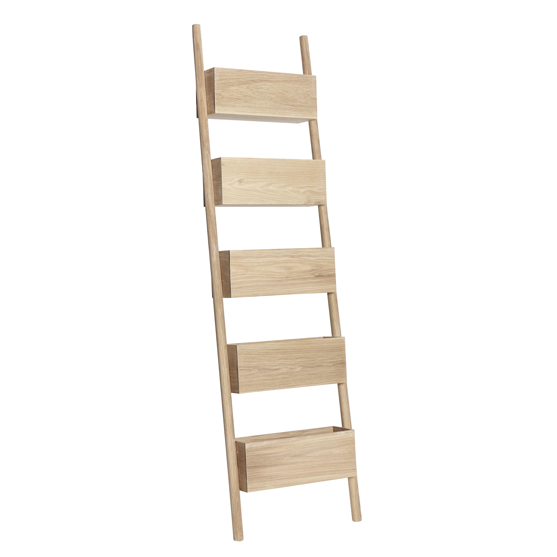Hübsch Möbel oak nature display ladder product number 889025 designed by