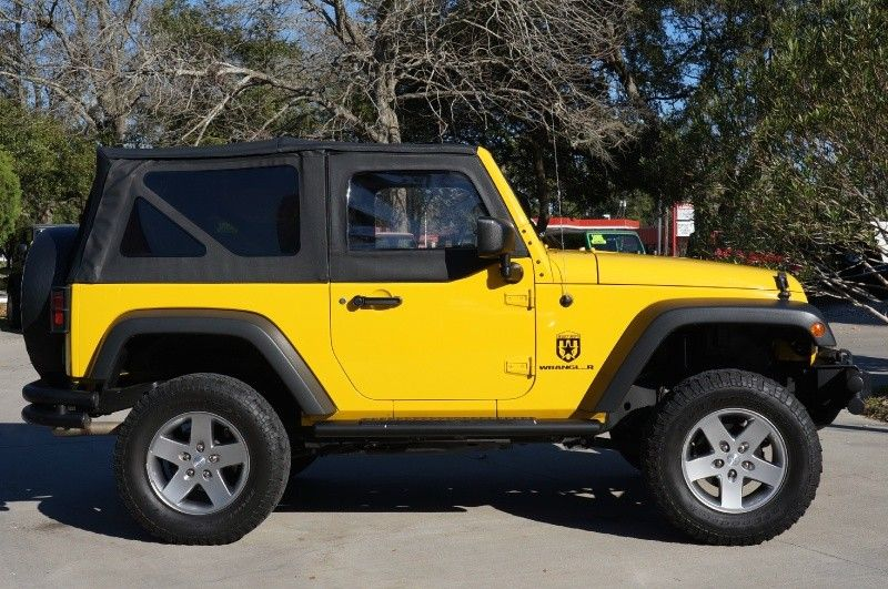 2008 Detonator Yellow Jeep Wrangler 21 995 Hard To Find Half Door Option Rare Locking Rear Differen Yellow Jeep 2008 Jeep Wrangler Yellow Jeep Wrangler