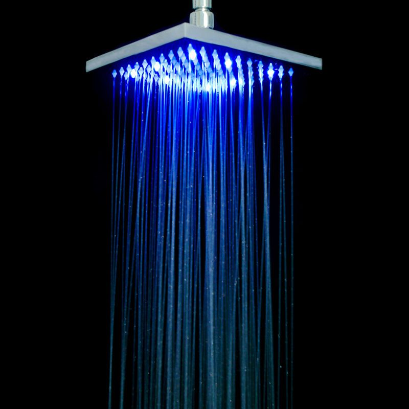 Got It Love This Large Led Rain Shower Head Disco In The Shower