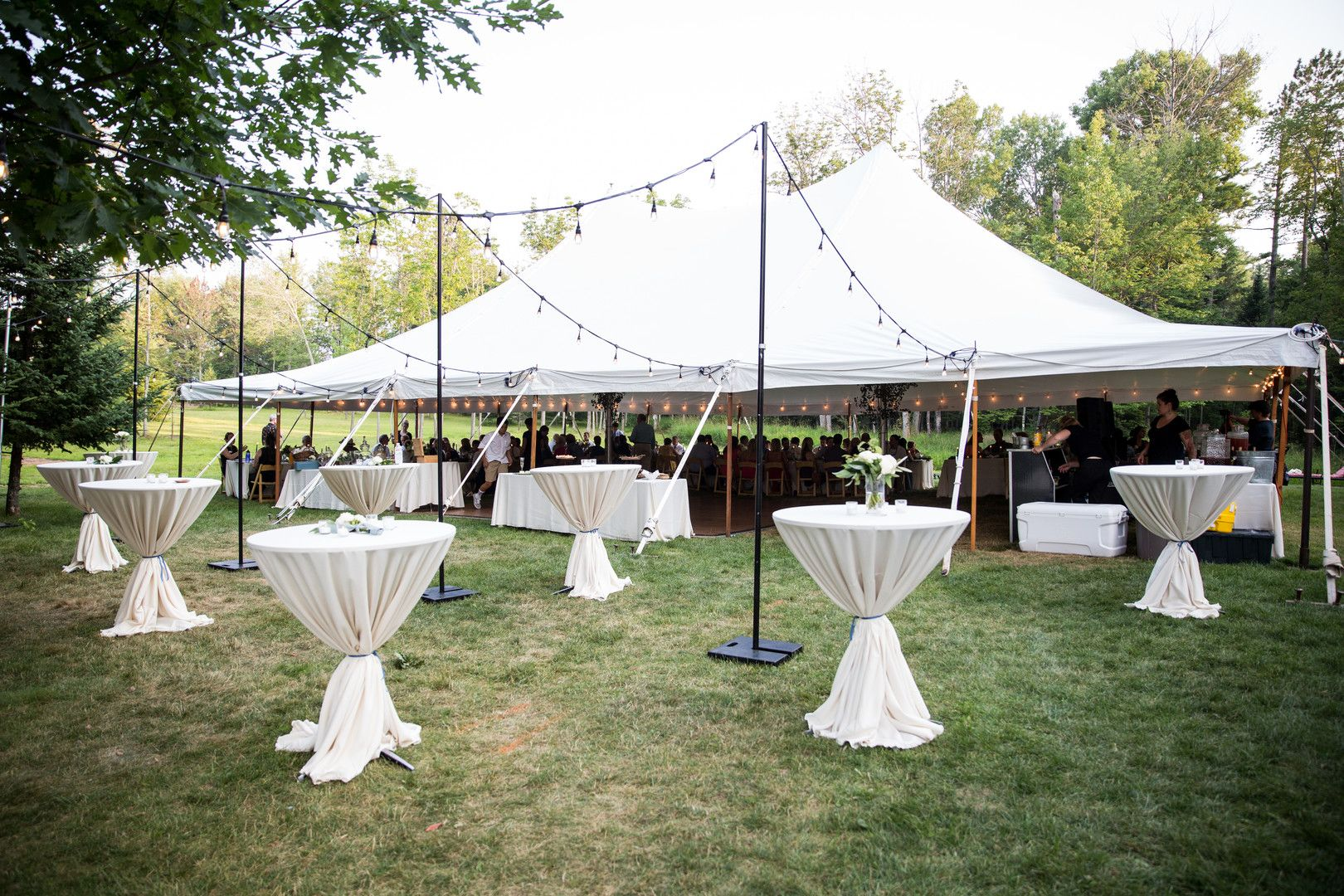 Indoor outdoor setup for your outdoor wedding! (With ...