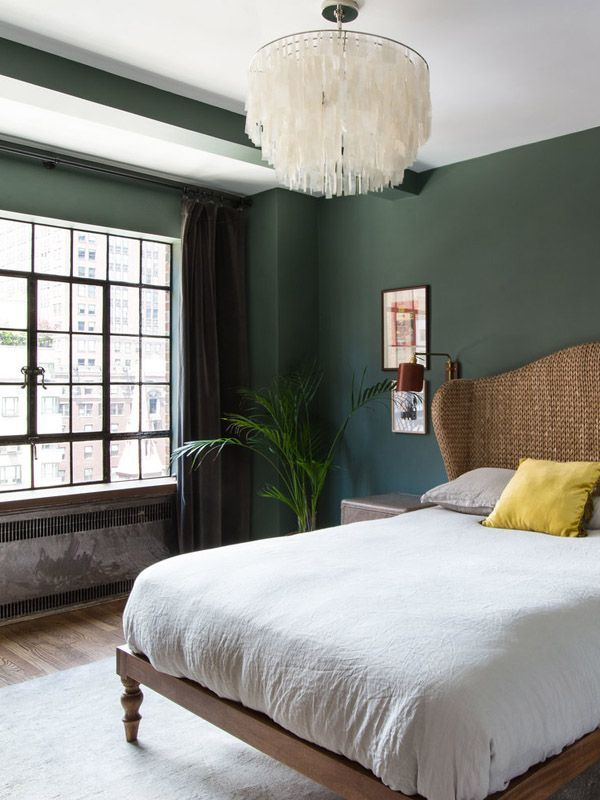 11 Insanely Cool Bedroom Paint Colors Every Pro Uses Green