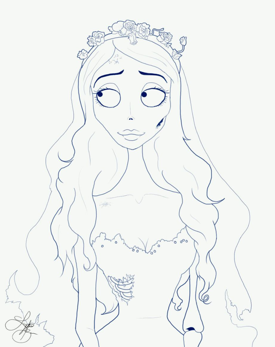 corpse bride coloring pages cloring+pages | Corpse Bride Coloring Pages | Coloring Pages  corpse bride coloring pages