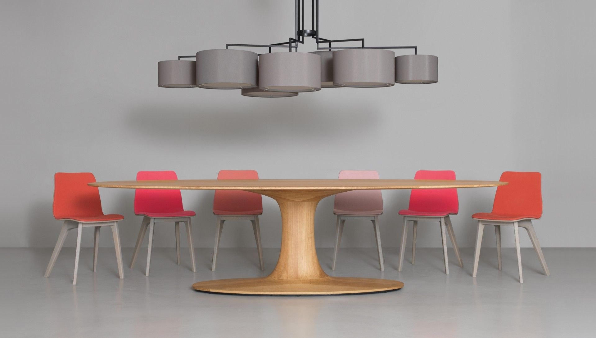 Turntable Oval Table Dining Table Oval Table Dining