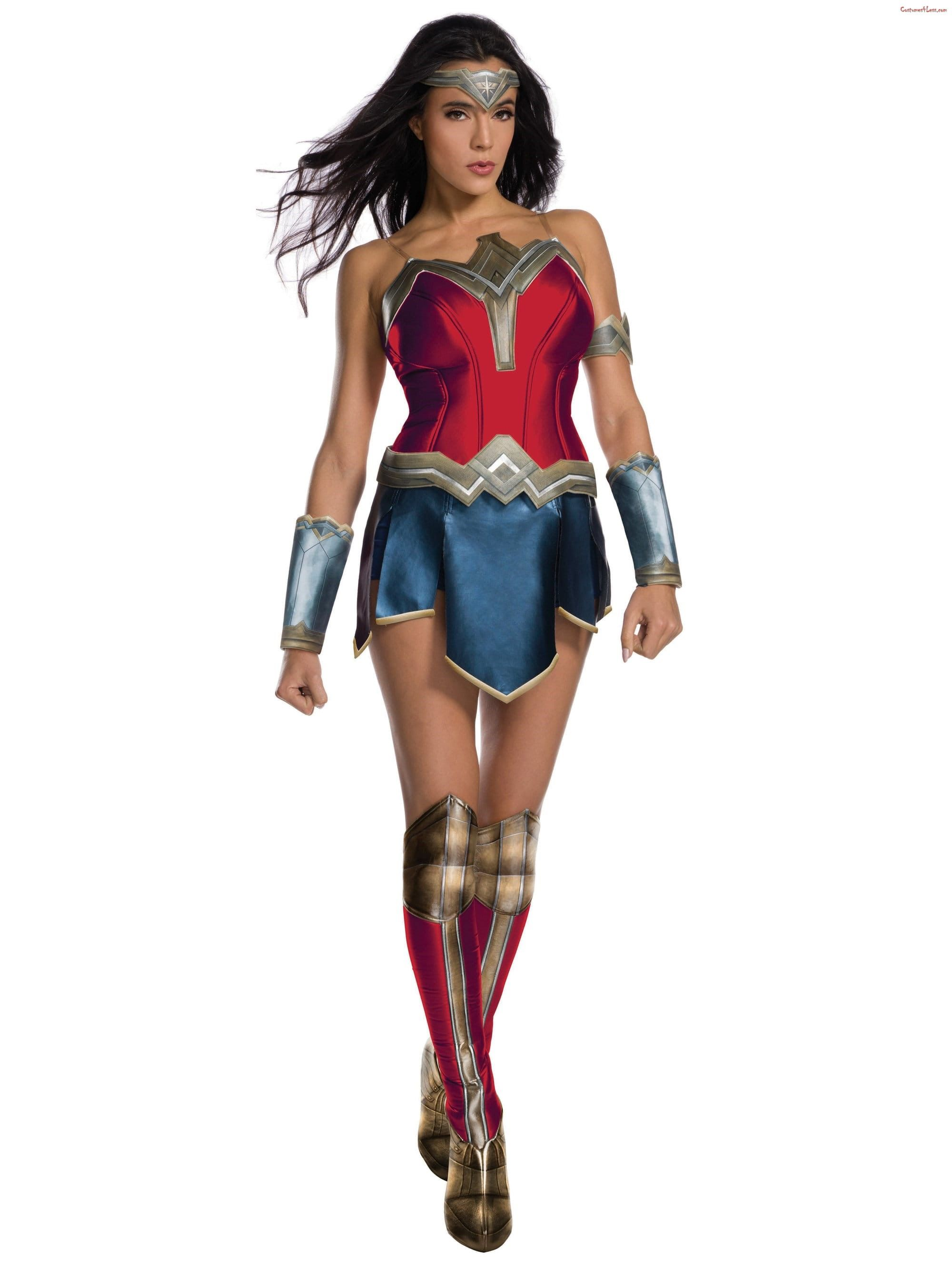 Justice League Womens Wonder Woman Costume Ad Wonder Woman Costume Adult Wonder Woman Costume Costumes For Women