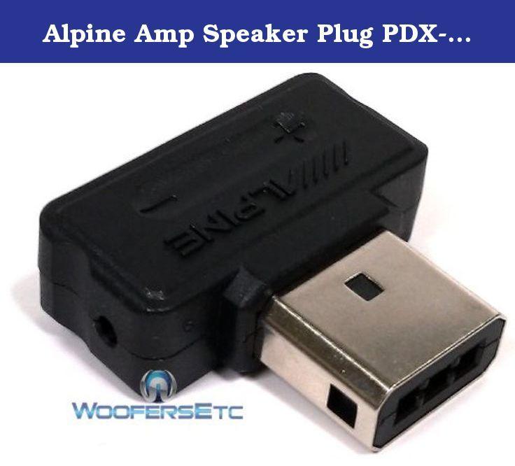 alpine amp speaker plug pdx m12 pdx m6 pdx f6 pdx f4 mono rh pinterest com