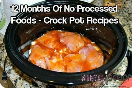 12 months of no processed foods crock poy receipes receipes not at all into prepping but there are a lot of good crockpot recipes here 12 months of no processed foods crock pot recipes mostly these recipes call forumfinder Gallery
