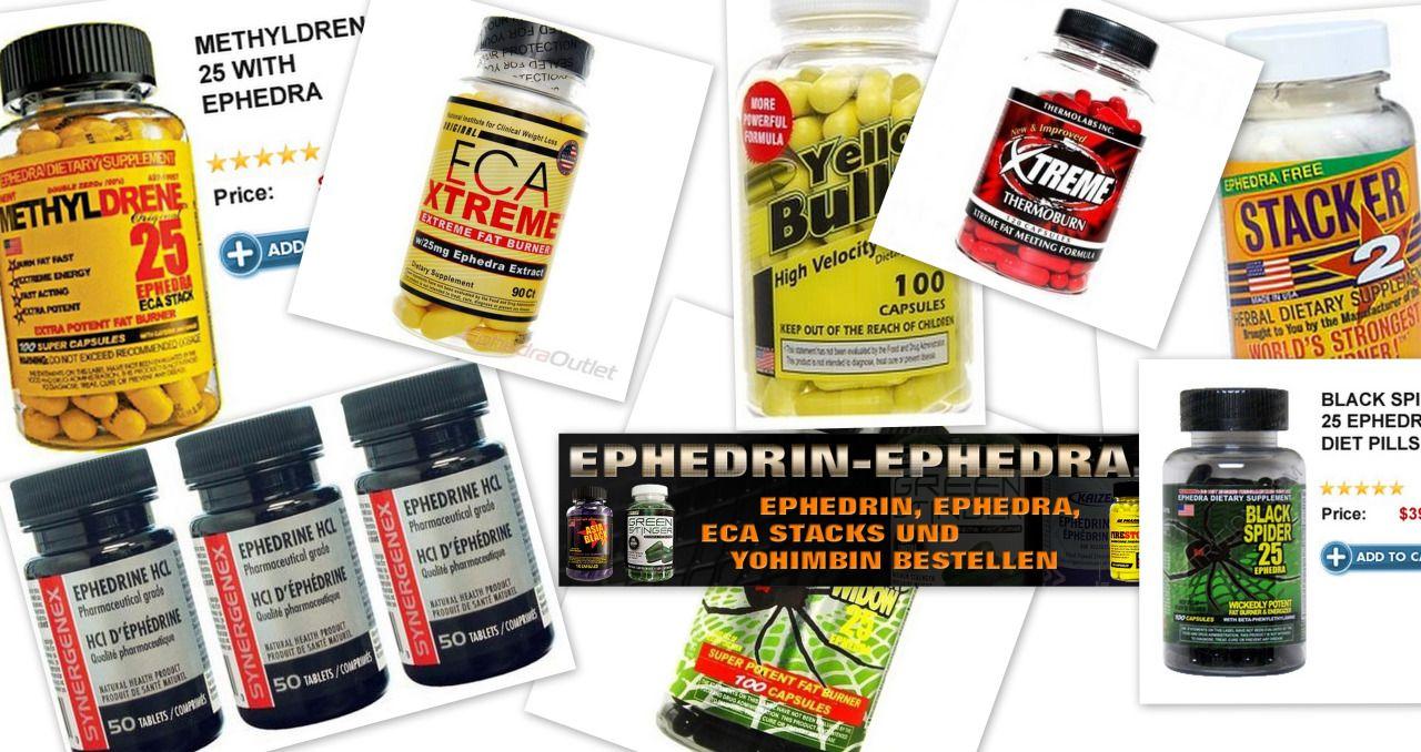 Ephedrin bestellen: Hier kaufen Sie ohne Rezept Ephedrin von Kaizen mit 8 mg Wirkstoffgehalt pro Tablette, Efedrina Level von Laboratorios ERN mit 25 mg, Ephedrin von Gen-Shi mit 30 mg und das aus der Schweiz stammende veterinärmedizinische Präparat Caniphedrin mit 50 mg. Um die Auswahl einzuschränken, klicken Sie auf einen der folgenden Links.