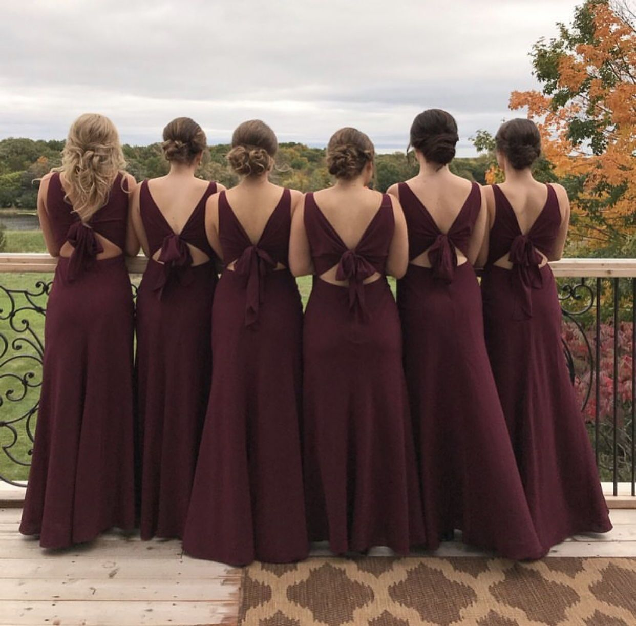 d4cdc780552 Back Bows for the win! Jenny Yoo Bridesmaids