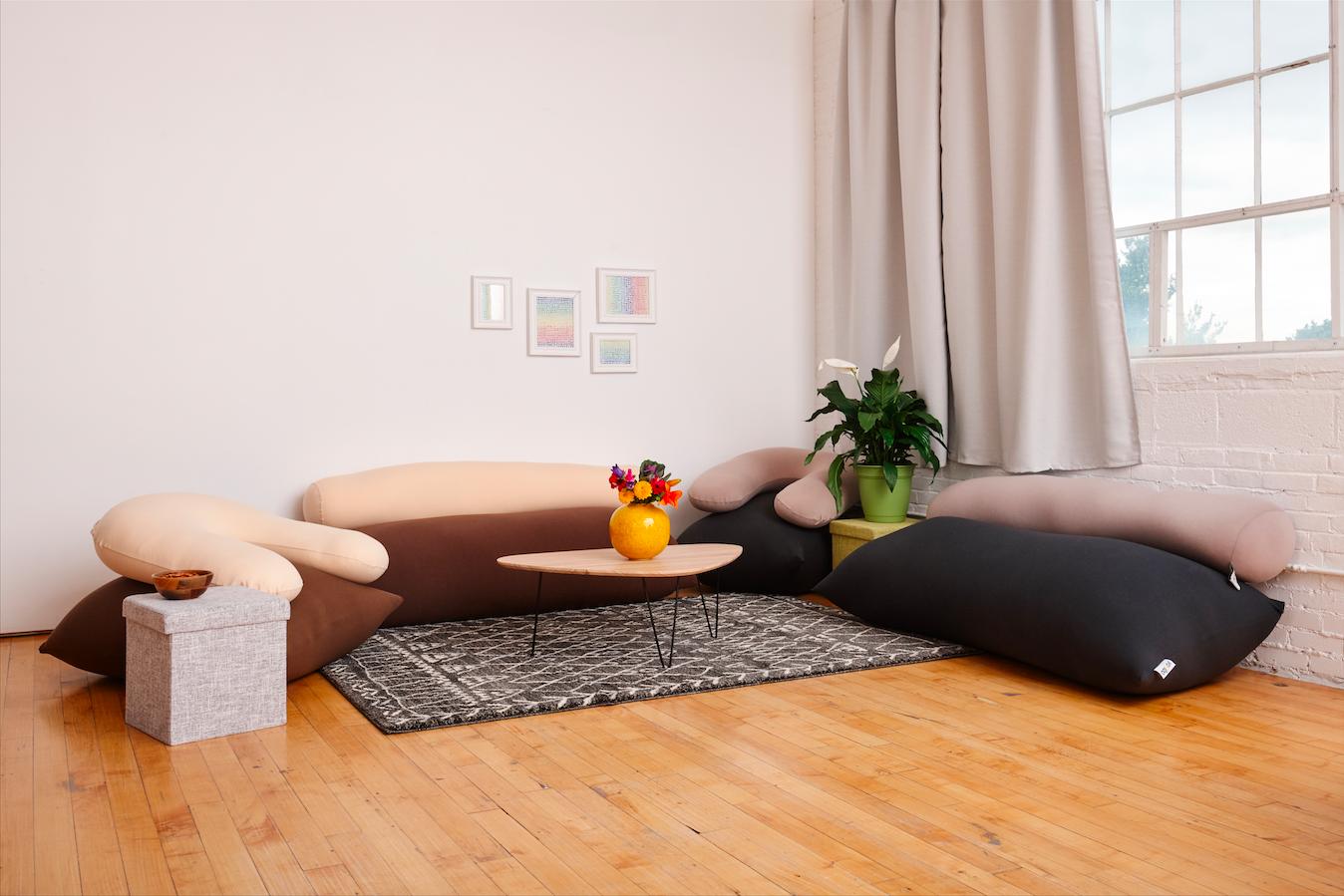 Yogibo Living Room インテリア 家具 ふたり暮らし インテリア ヨギボー