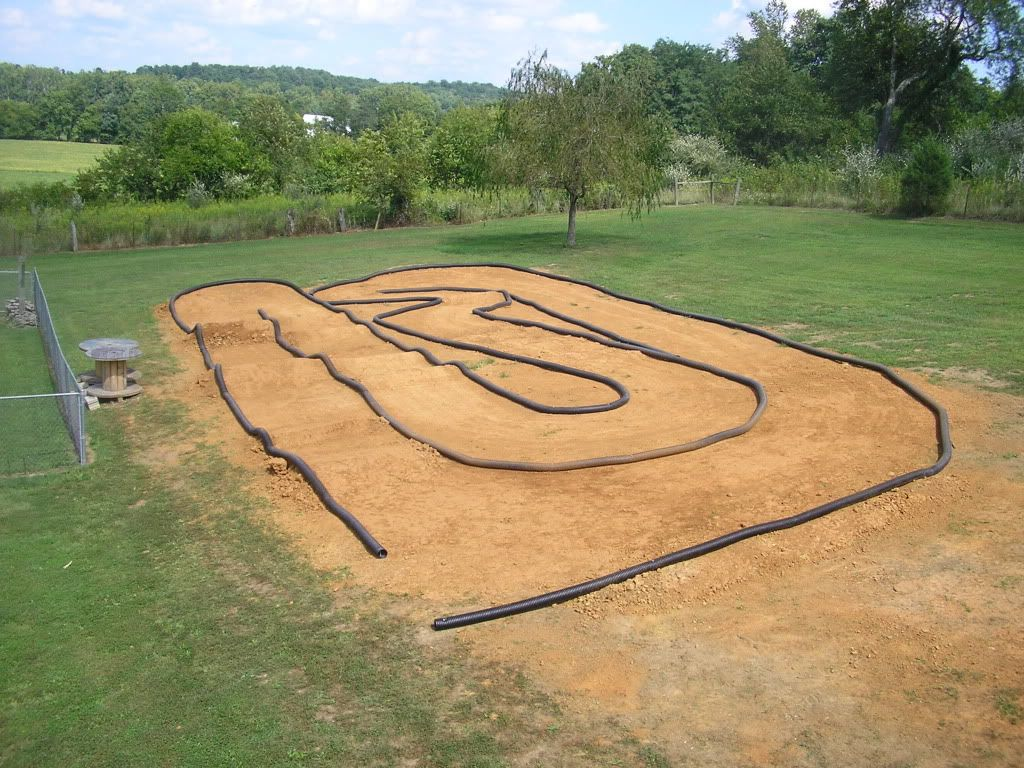 my finished bakcyard rc track r c tech forums race
