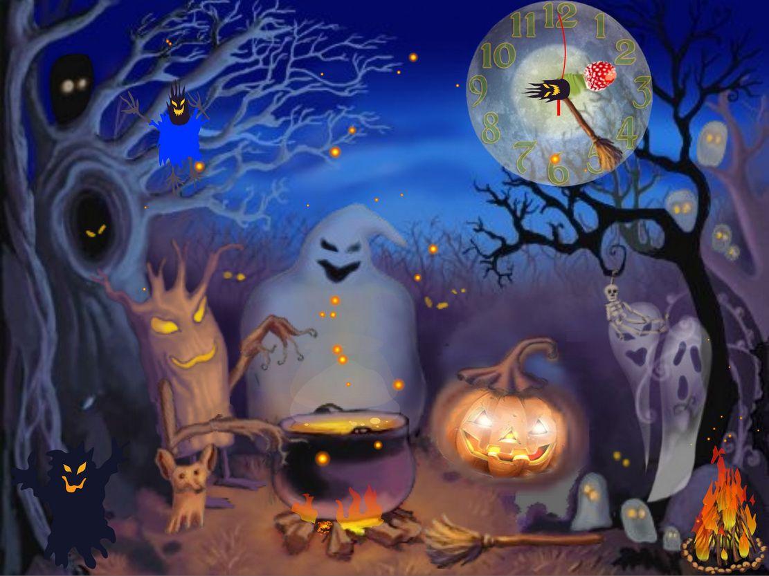 Animated Halloween Wallpapers Halloween Desktop Wallpaper