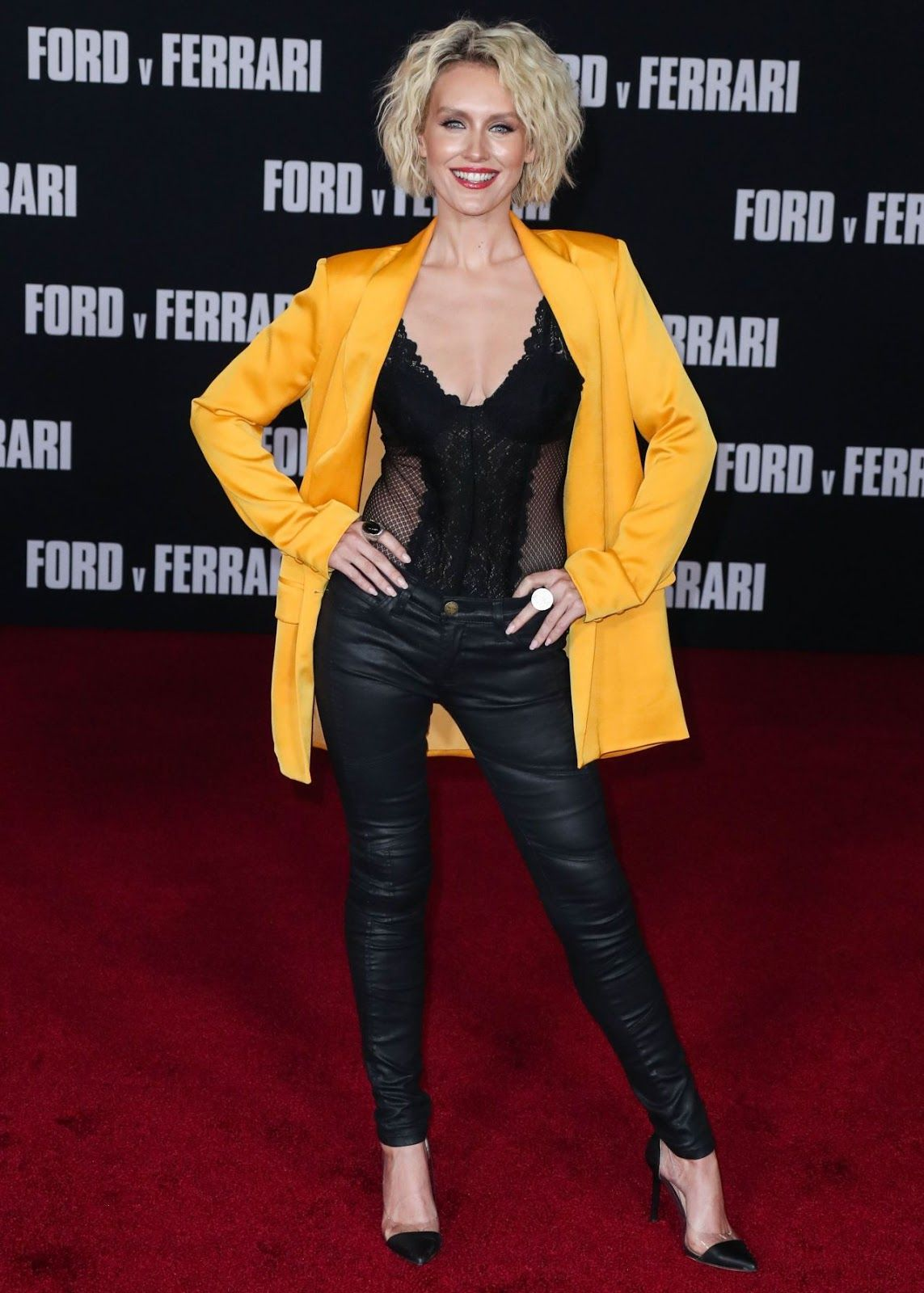 Nicky Whelan Ford V Ferrari Premiere In Hollywood Nicky