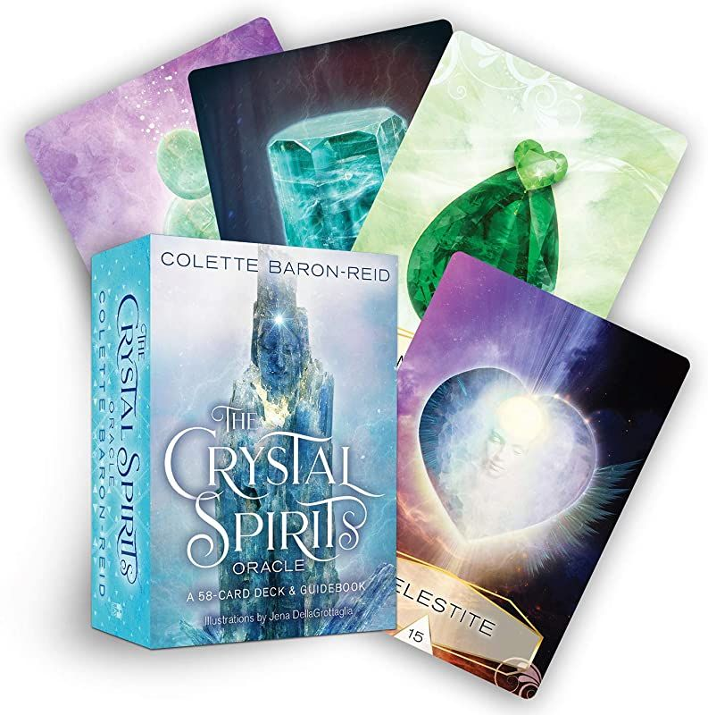 Epub Crystal Spirits Oracle A 58 Card Deck And Guidebook Author