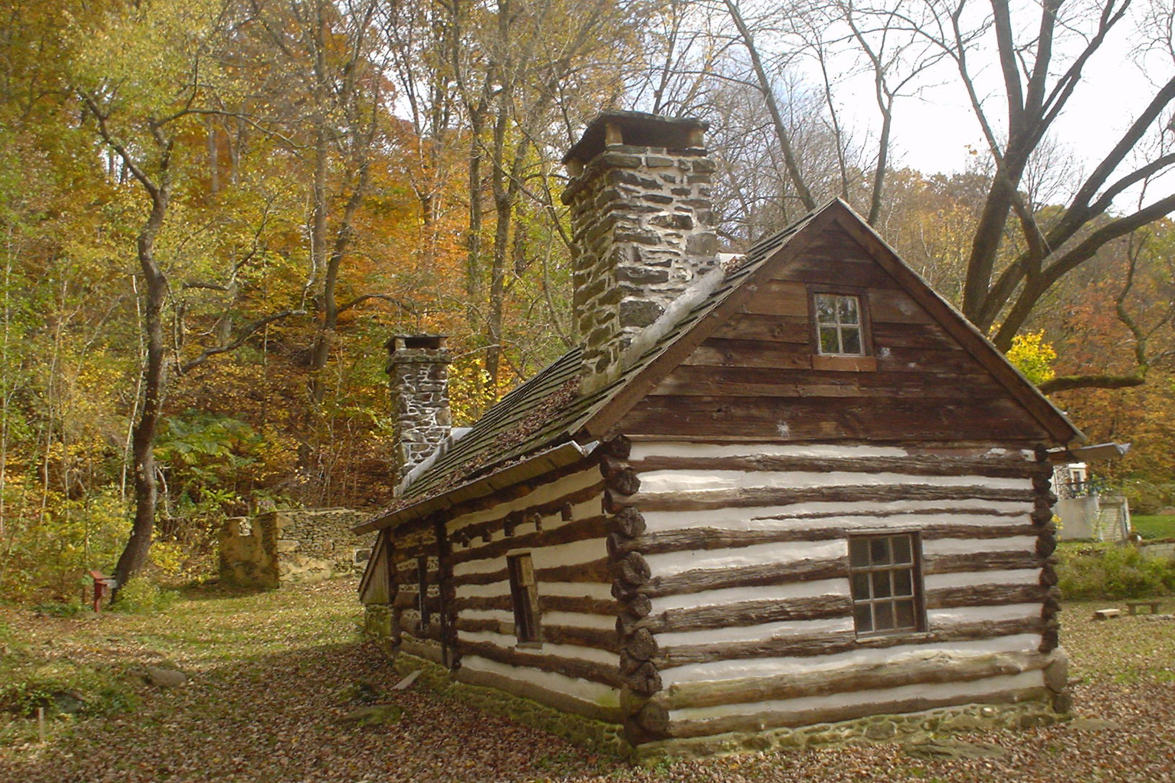 whispering rentals in cabin cook sleeps forest cheap cabins oaks pa