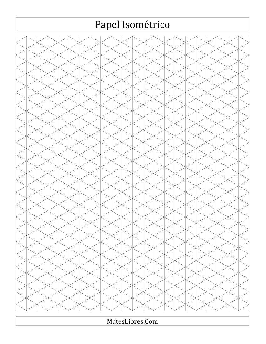 Plantilla isom trica de puntos buscar con google - Papel para dibujar ...