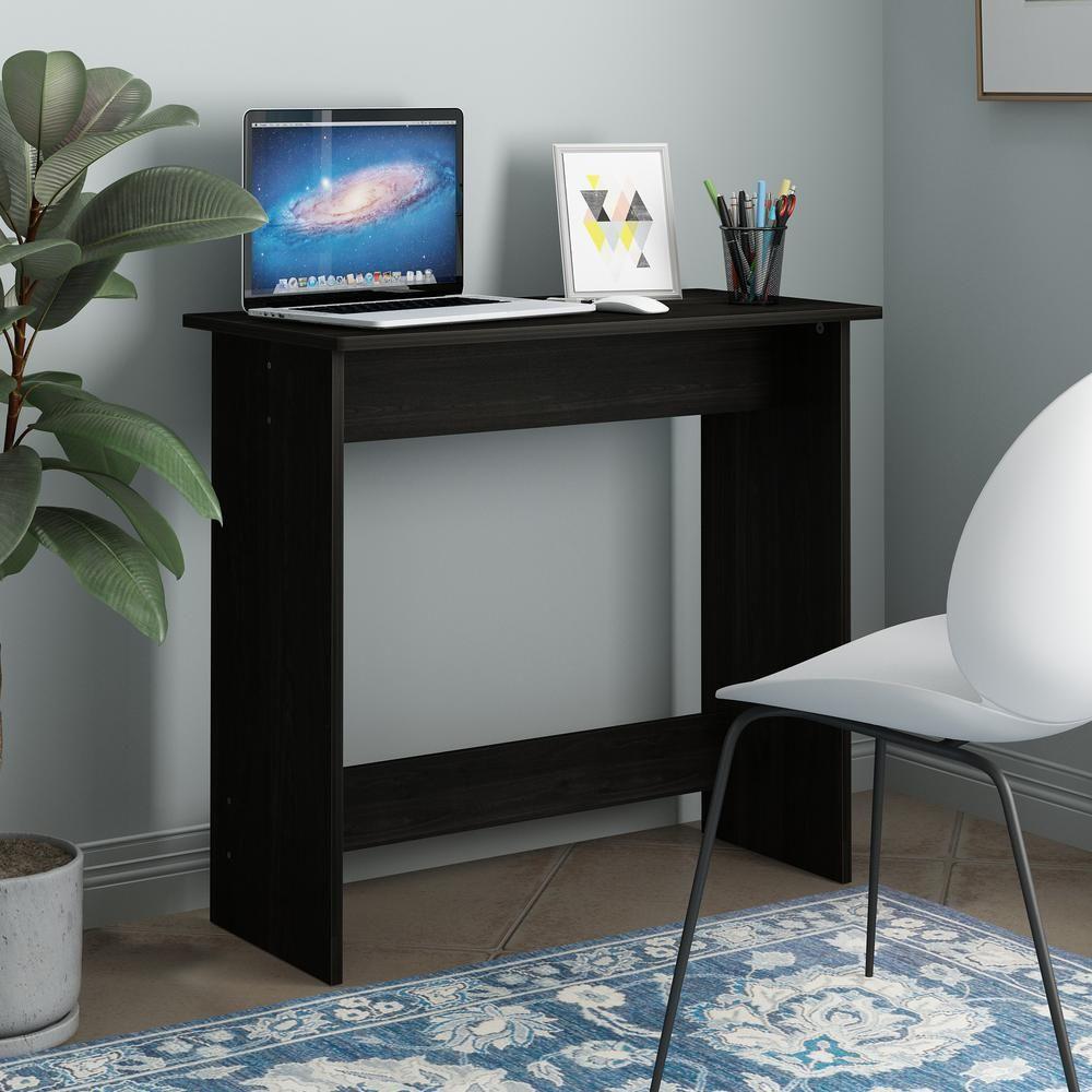 Furinno Simplistic Espresso Study Table, Brown Desks for