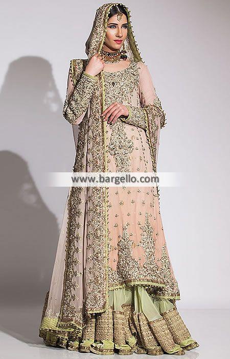 Bridal Gowns Kuwait : Pakistani bridal dresses fahad hussayn sharara