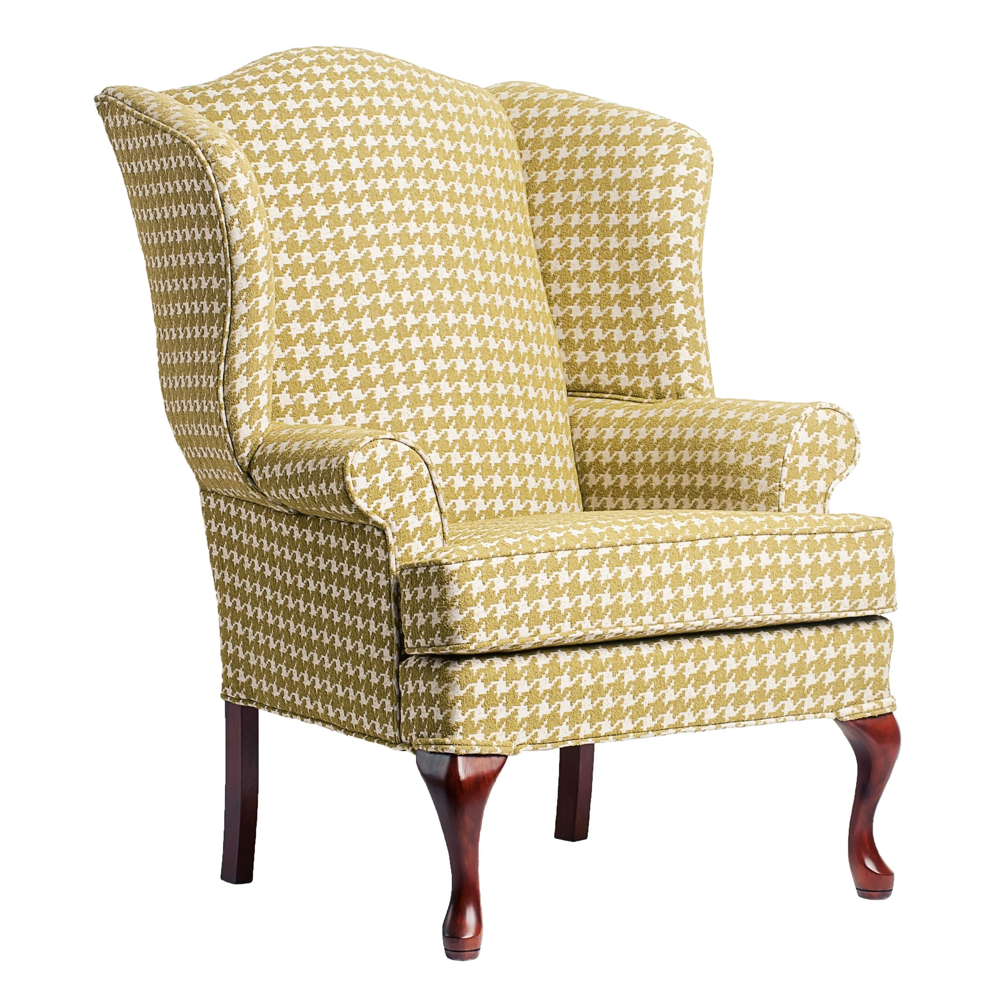 Simply Living Wing Accent Chair: Have To Have It. Comfort Pointe Leroux Lime Upholstered
