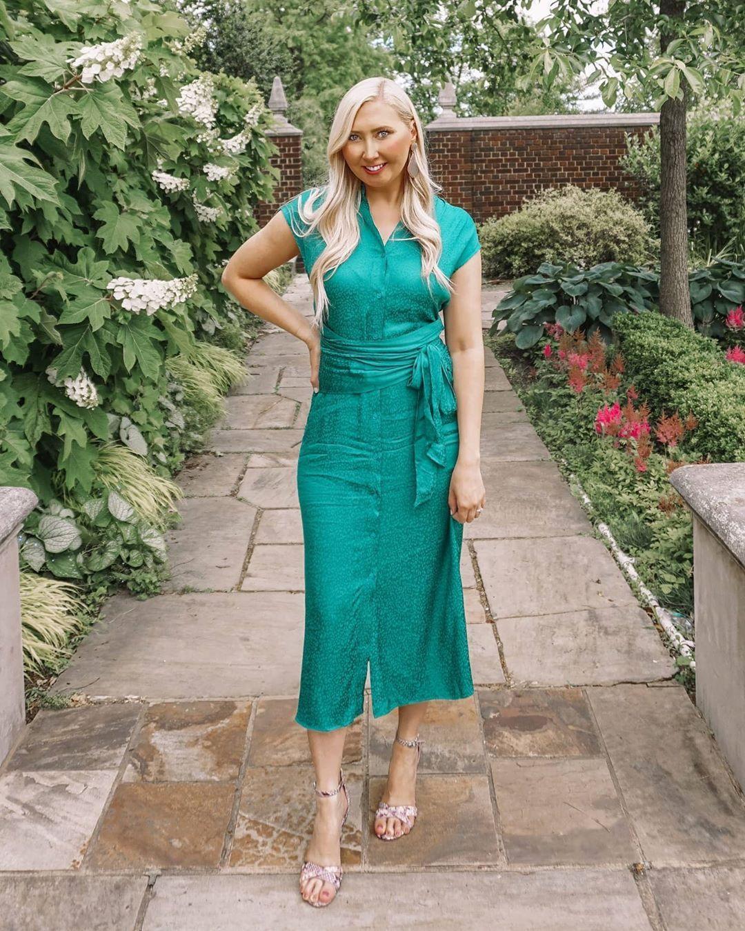Emerald Green Cushnie Dress Dresses Green Shirt Dress Fashion [ 1350 x 1080 Pixel ]