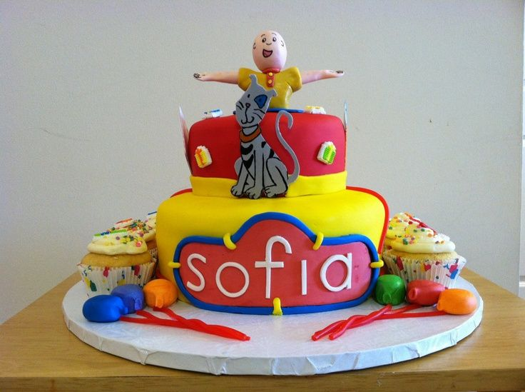 Caillou Birthday Supplies Jpeg Caillou Birthday Cake Ideas