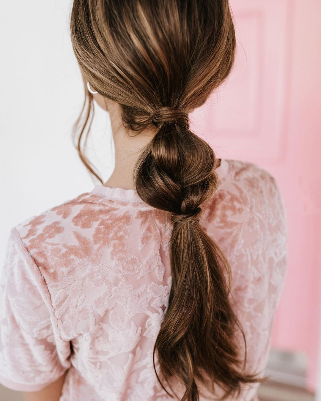 "BFB HAIR on Instagram: ""Hairstyle: Half braided ponytail. � Up tutorial today! The Up is one weft that you can insert for ponytails, braids, top knots and updos.…"""