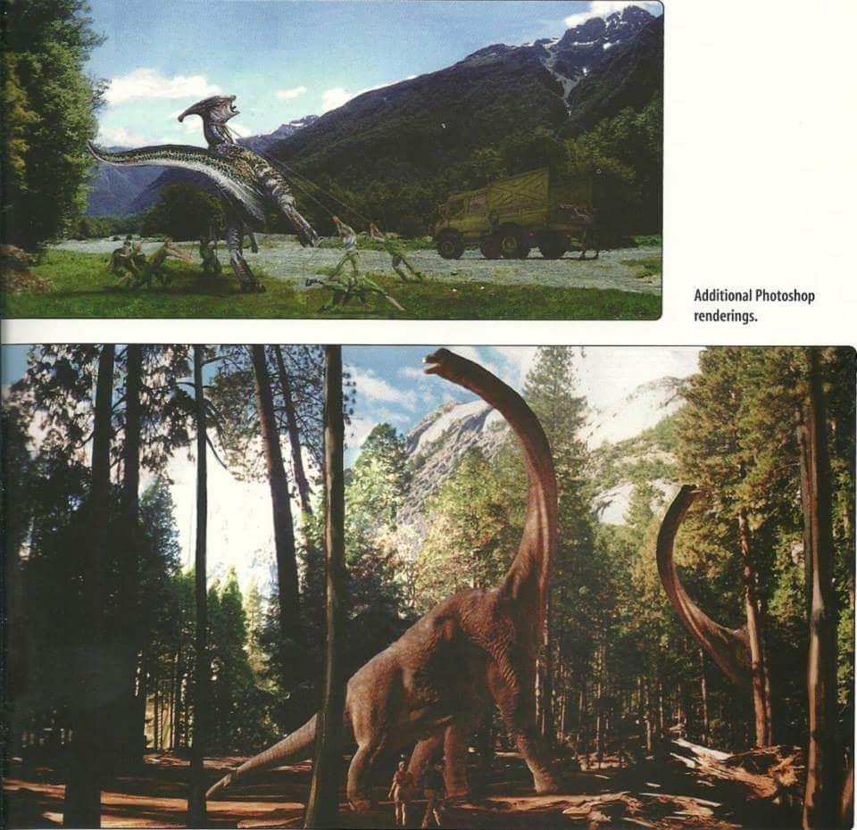 The Lost World: Jurassic Park concept art | The stuff that ... |The Lost World Jurassic Park Concept Art