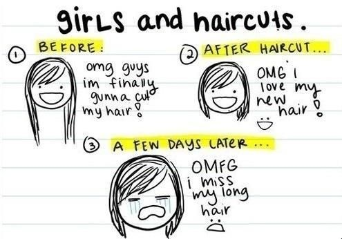 Haircuts. Every time!!
