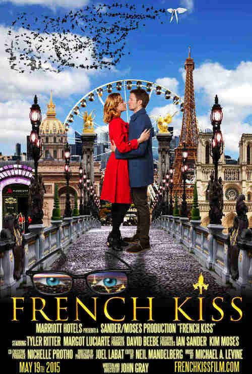 French Kiss - The 23-minute film follows Ethan (Tyler Ritter), an international business traveler on a trip to Paris.