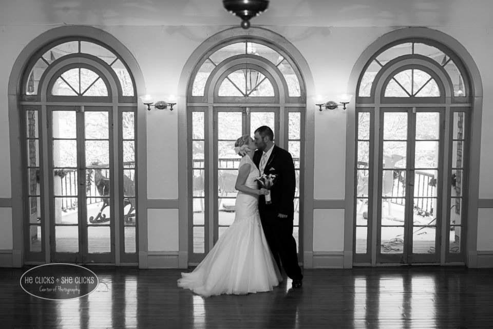 Miller Park Pavillion Bloomington IL Wedding