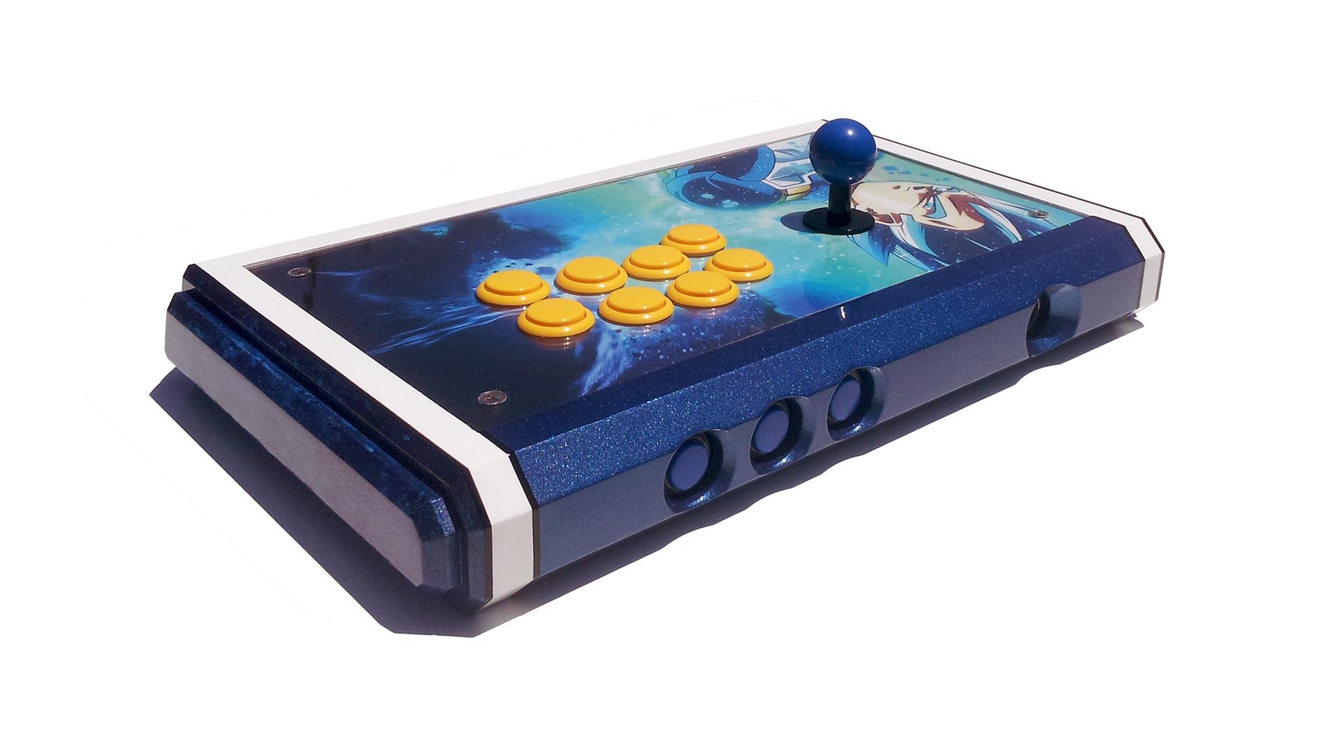 Vegeta Fightstick Arcade Stick Arcade Custom