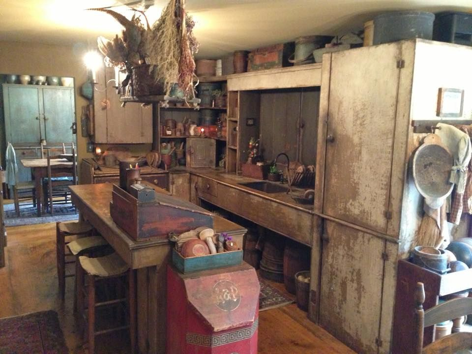 Primitive Kitchen Ideas For The House Kitch