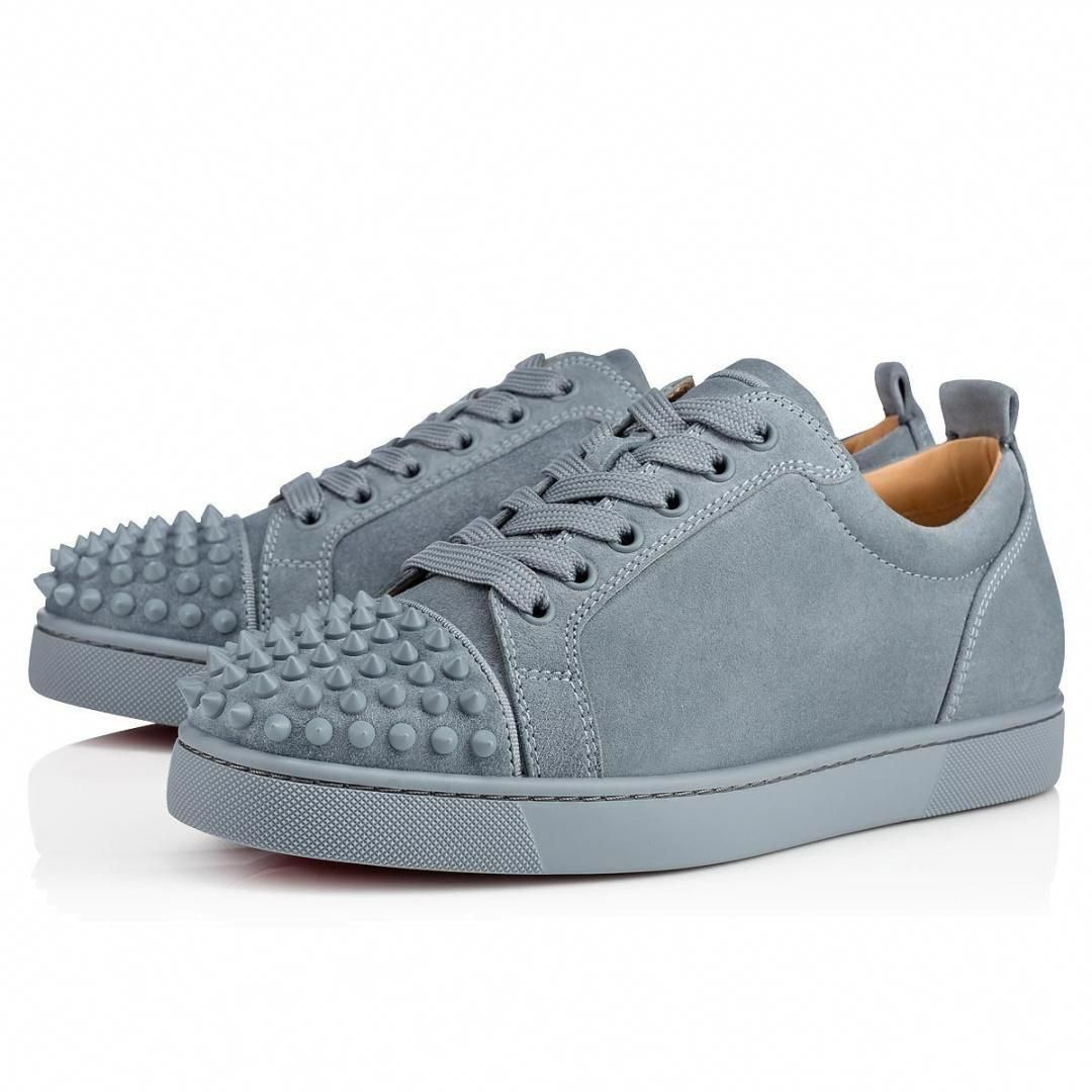 150f60cab22c Sneakers Grey - Christian Louboutin Louis Junior Spikes  ChristianLouboutin