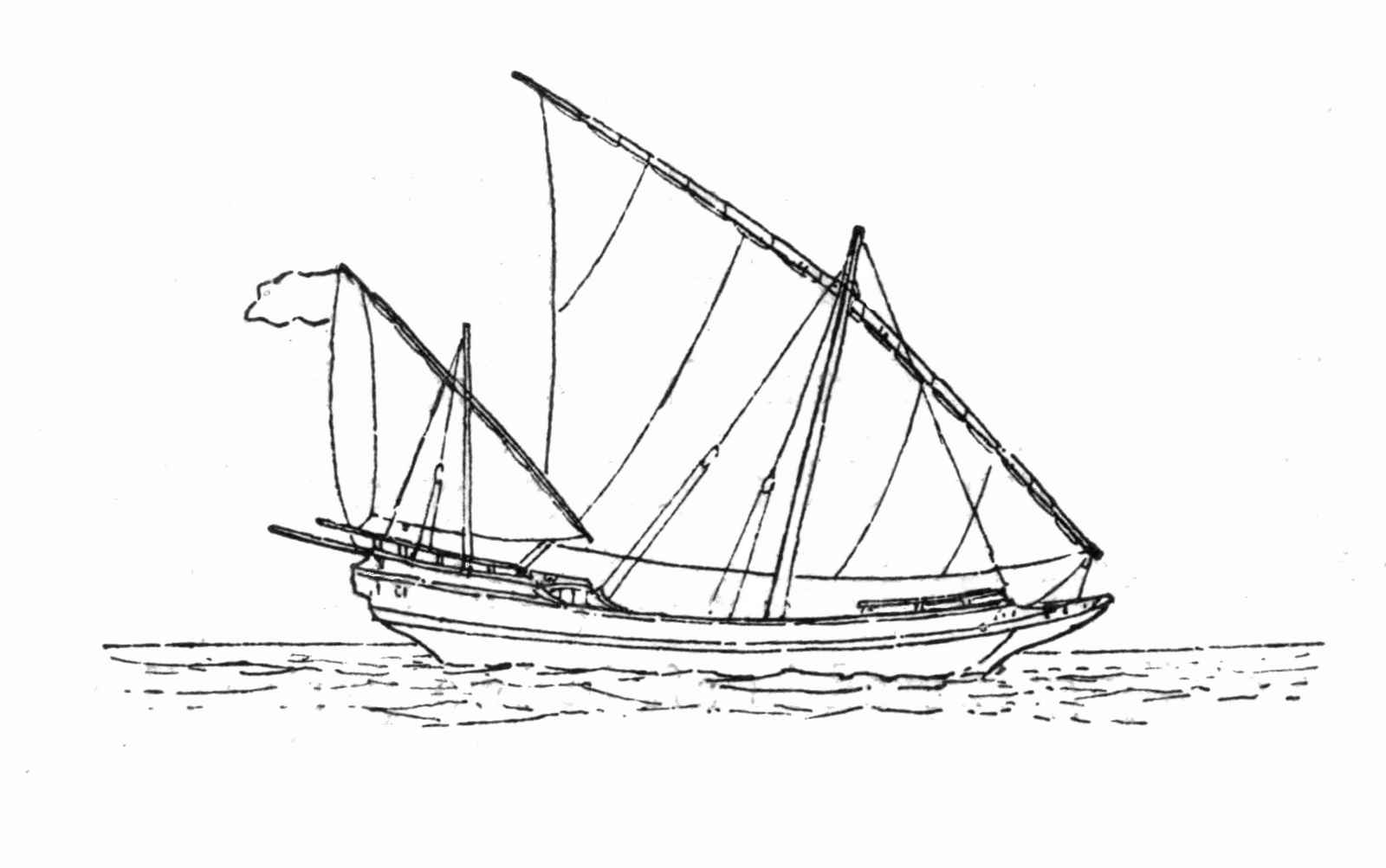 Image Result For Dhow Drawing