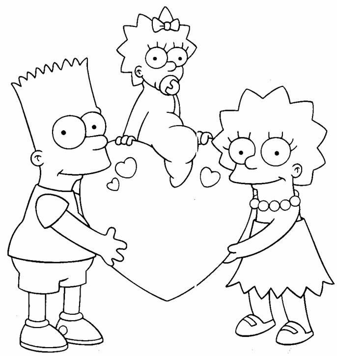 Dibujos Para Colorear 14 Febrero Dia Amor Amistad Amistad Colorear Dibujos Di Valentine Coloring Pages Valentines Day Coloring Page Cartoon Coloring Pages