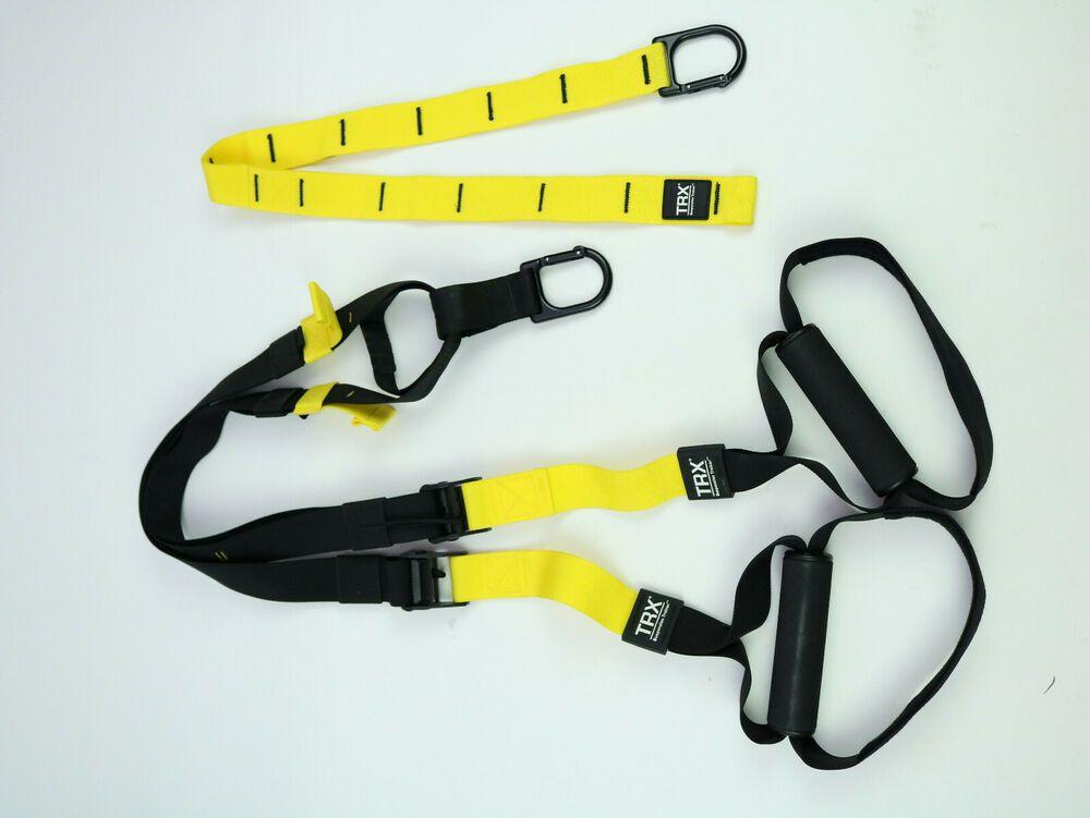 TRX Training Suspension Trainer Yellow Black Fitness