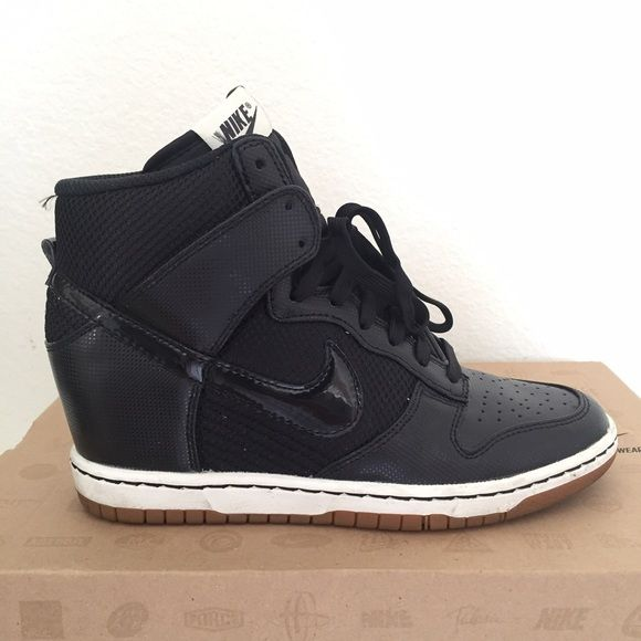 newest 3785f c5ee0 Nike Dunk Sky Hi Mesh In excellent condition. Wore only a couple of times.  narrow fit. Nike Shoes Sneakers