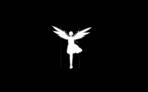 The Best Angel Black And White Wallpaper Gif