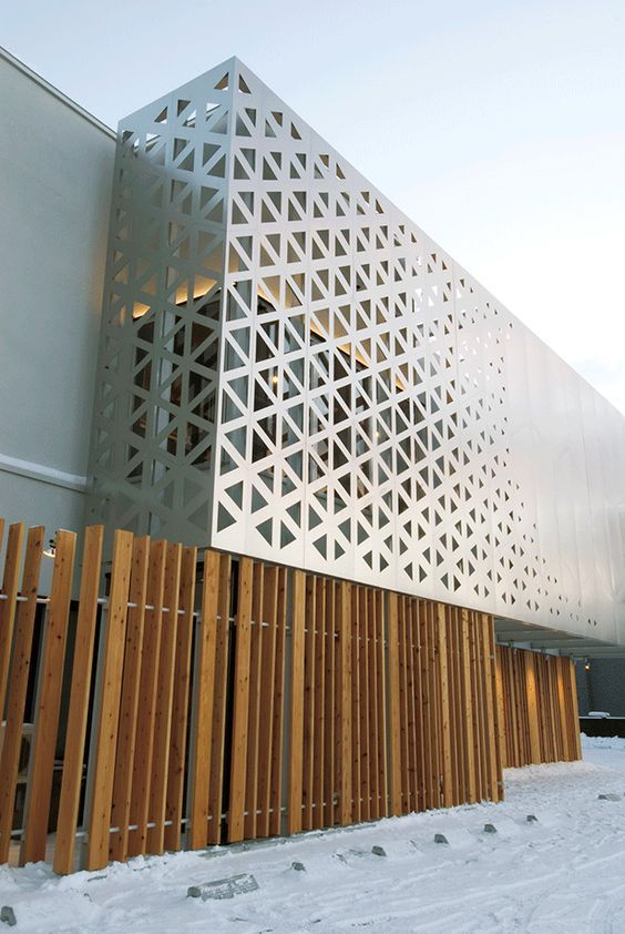 Ichii renovation triangular parametric grid triangles for Triangle concept architecture