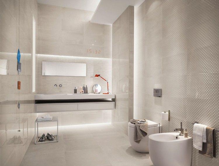 Moderne Badezimmer Fliesen Badoase In Neutralen Farben Bad