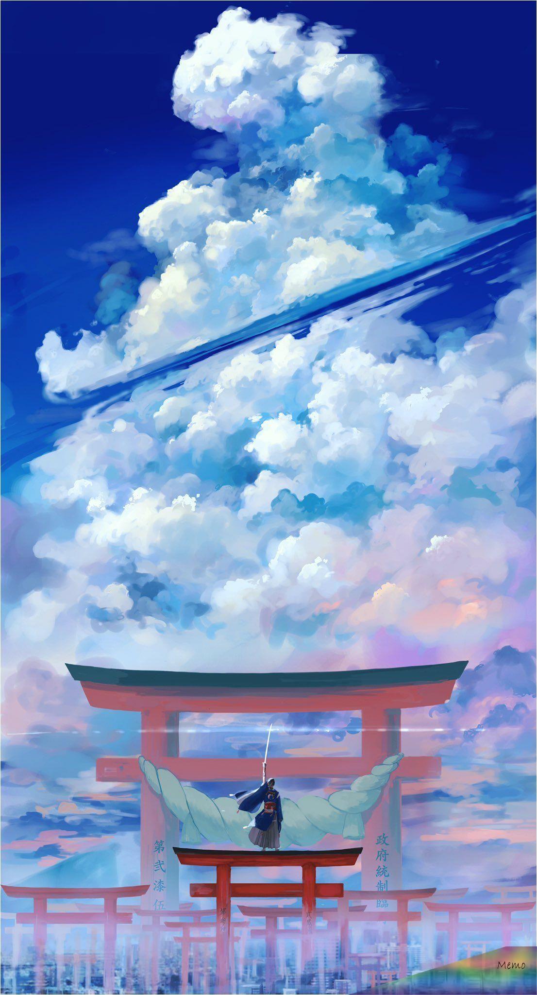 """Apr 30 2020 A Å""""a A Å""""a Æ'a A A E A En 2020 Paysage Manga Illustration De Paysage Photographie De Paysages"""