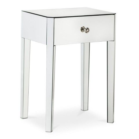 Gentil Threshold™ Mirrored Accent Table With Drawer