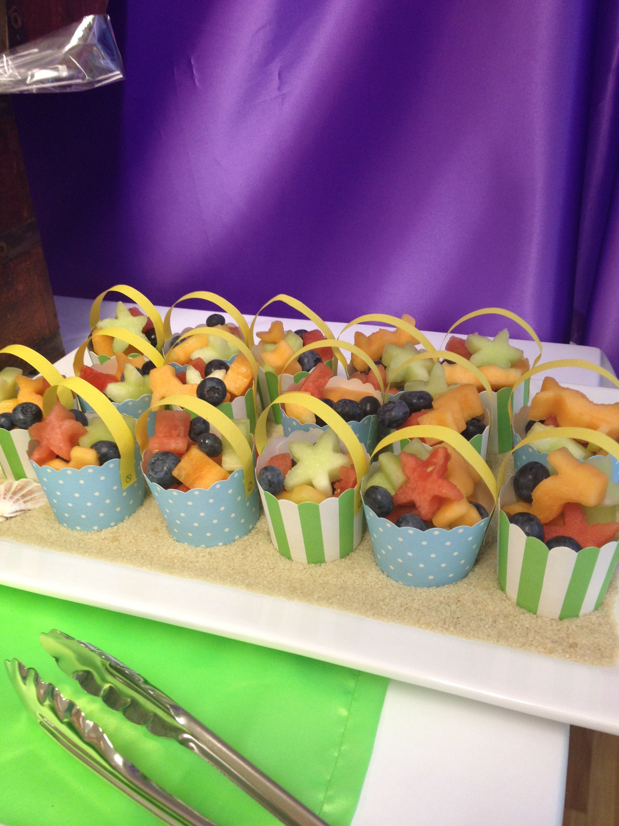 Buckets Of Fruit Healthy And Fun Party Food For Kids