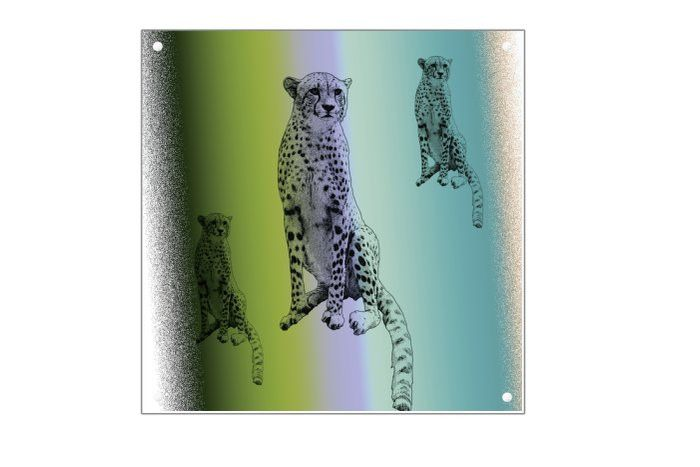 Art Plexiglas 30 x 30 cm MWL Design    van MWL Design NL - mwl design nl op DaWanda.com