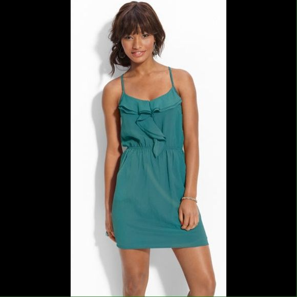 "Selling this ""Nordstrom Green Ruffled Racerback Dress."" in my Poshmark closet! My username is: nakedsongbird. #shopmycloset #poshmark #fashion #shopping #style #forsale #Lush #Dresses"