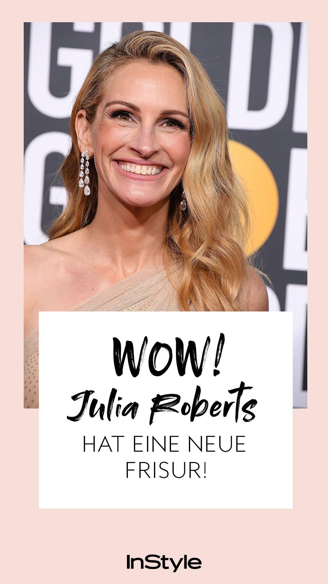 Julia Roberts Neue Frisur Ist Perfekt Fur Den Fruhling Frisuren