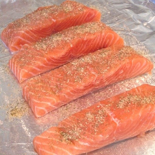 I'm making a @McCormickSpice recipe for dinner tonight...Baked Crusted Salmon!  So easy and delicious! #mccormickhomemade